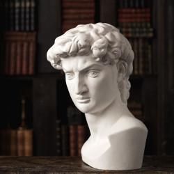 Гипсовая фигура Малевичъ голова Давида