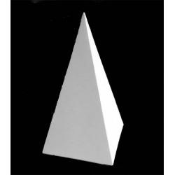 Пирамида четырехгранная, гипс