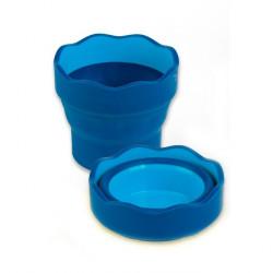 Стакан для воды Faber Castell Click&Go синий
