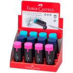 Точилка пластиковая с ластиком Faber-Castell Combi