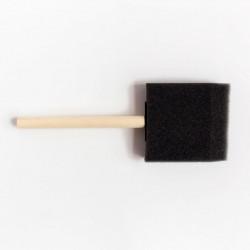 Кисть-губка плоская поролон 60 мм.