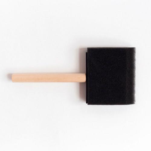 Кисть-губка плоская поролон 75 мм.