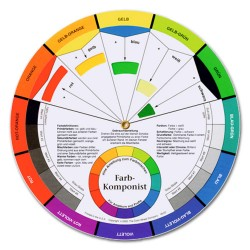Цветовой круг профессиональный Molotow