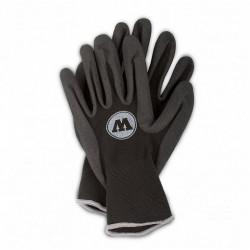 Перчатки прорезиненые черные Molotow Женские