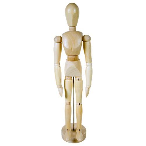 Манекен человека 30 см, мужской