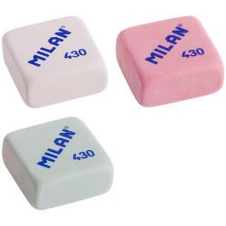 """Ластик Milan """"430"""", прямоугольный, синтетический каучук, 28*28*13мм"""