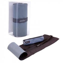 Пенал-свиток для 48 карандашей и аксессуаров со съемным текстильным футляром