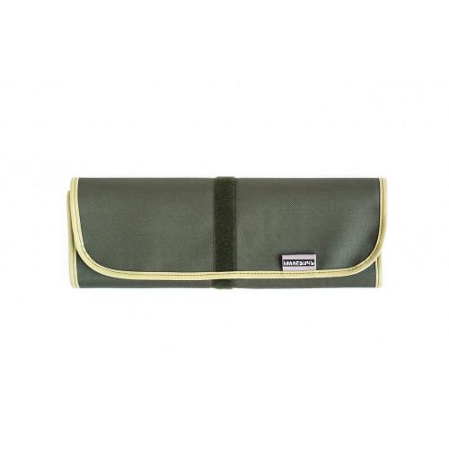 Скрутка для хранения кистей Малевичъ, 34х48 см, оливковый