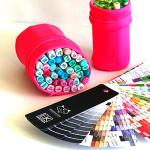 Мешок-пенал для маркеров Marker Bag Maxgoodz размер L алый