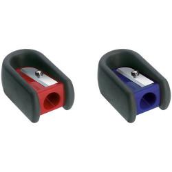 Точилка пластиковая Faber-Castell, 1 отверстие, с резиновым держателем