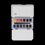 Набор акварельных красок Rembrandt Dusk 12 кювет металлический короб (сумеречные цвета)