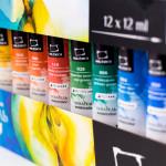 Набор акварельных красок Малевичъ WaterFall, 12 цв. по 12 мл