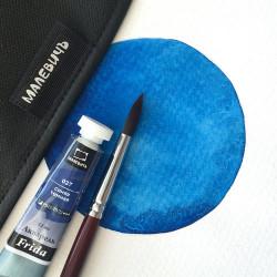 Акварель Малевичъ «Frida», синяя темная 12 мл