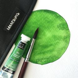 Акварель Малевичъ «Frida», травяная зеленая 12 мл