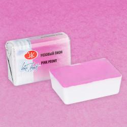 Розовый пион, акварель «Белые ночи», кювет 2,5 мл