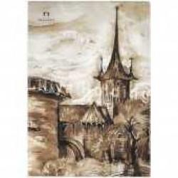Планшет для акварели «Старый Таллин», А5, 20 л.