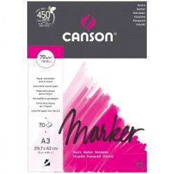 Альбом для маркера Marker Layout 70г/м.кв 29.7*42см 70л. склейка по короткой стороне
