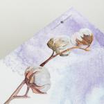 "Папка для акварели Малевичъ ""Watercolor"" 100% хлопок, А4, 15л"