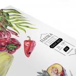 Папка с бумагой для сухих техник GrafArt 150 г, A4, 25 л