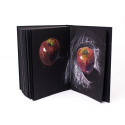 Бумага для сухих техник GrafArt black Малевичъ, 150 г/м, 60х80 см