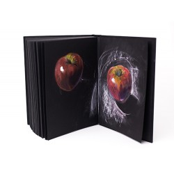 Бумага для сухих техник GrafArt black Малевичъ, 150 г/м, А2