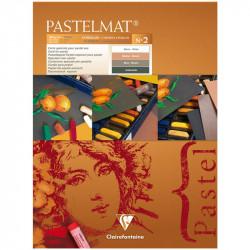 """Альбом склейка для пастели """"Pastelmat"""" №2,12л. 360г/м2, бархат, цв.блок 300х400 мм"""