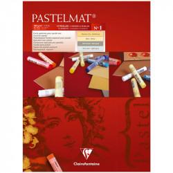 """Альбом склейка для пастели """"Pastelmat"""" № 1,12л. 360г/м2, бархат, цв.блок 300х400 мм"""