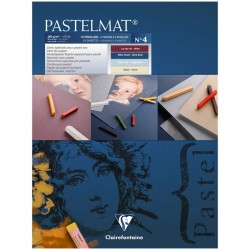"""Альбом склейка для пастели """"Pastelmat"""" №4,12л. 360г/м2, бархат, цв.блок 300х400 мм"""