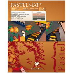 """Альбом для пастели 12л. 24*30 см Clairefontaine """"Pastelmat"""", 360г/м2, бархат, цветной блок"""