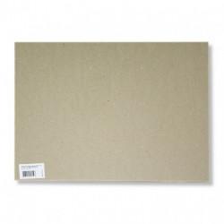 Картон для художественных работ, плотность 2000г/м2, 400х500 мм