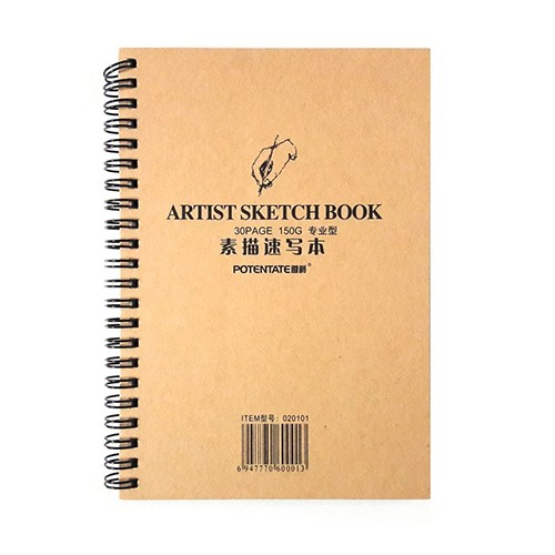 Альбом Potentate Professional Sketchbook, 30 л. 260x190mm, 150 г/м