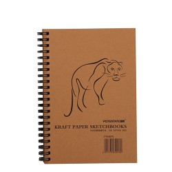Альбом Potentate Craft Paper Sketch Book, 50 л.  190 x 130 mm,  80 г/м