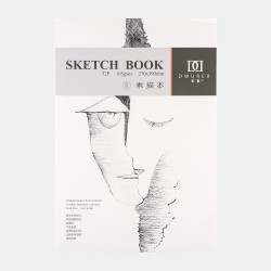 "Скетчбук Potentate ""Sketch Book"" 32 листа, формат 270х390мм, 110г/м2, склейка, м/з"