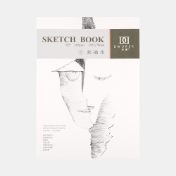 "Скетчбук Potentate ""Sketch Book"" 32 листа, формат 195х270мм, 165г/м2, склейка, м/з."