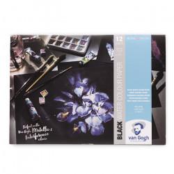 Склейка для акварели Black Water Colour Paper Pad Van Gogh 360 г/м2, А4, 12л