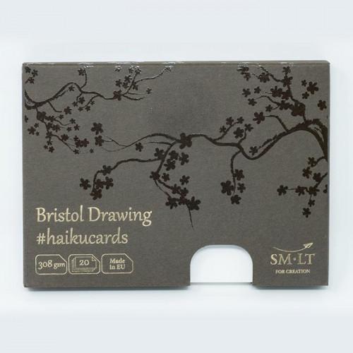 Набор открыток Bristol Drawing Haikucards, 308 г/м2, 147х106 мм, 20 шт