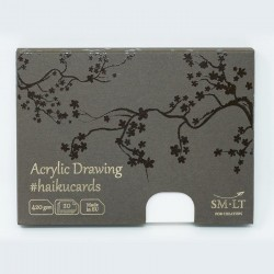 Набор акриловых открыток Acrylic Haikucards, 420 г/м2, 147х106 мм, 20 шт