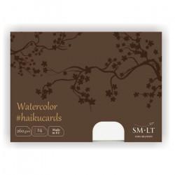 Набор акварельных открыток Watercolor Haikucards, 260 г/м2, 147х106 мм, 24шт