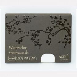Набор акварельных открыток 100% Cotton Watercolor Haikucards, 300 г/м2, 147х106 мм, 24шт