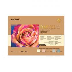 Склейка для пастели (5 светлых цветов) 160г/м2 25%хлопок А4, Mungyo, 30л.