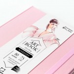 "Скетчбук Малевичъ для маркеров ""Fashion"", розовый, 75 г/м, 15х15, 80л"