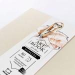 "Скетчбук Малевичъ для маркеров ""Fashion"", кремовый, 75 г/м, 20х20, 80л"
