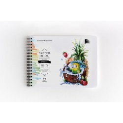 """Скетчбук Малевичъ для маркеров """"Sketch"""" 75 г/м, 20х15, 80л"""