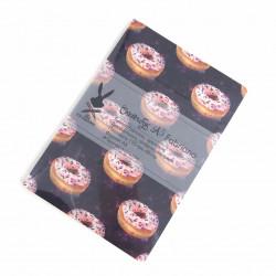 """Скетчбук А5 Fabriano """"Пончики в Космосе""""для графики, 110 г/м, 68 стр"""