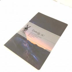 "Скетчбук А5 Fabriano ""Ночная Пустыня"" для графики, 110 г/м, 68 стр"