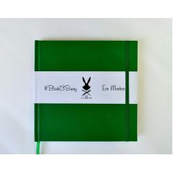 Альбом для Маркеров 20х20 см Тёмно Зеленый 160г/м2, 48 листов