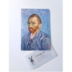 "Скетчбук А5 Fabriano ""Ван Гог"" для графики, 110 г/м, 68 стр"