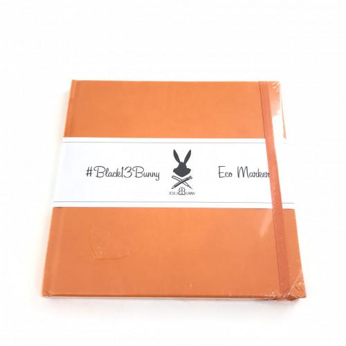 Альбом для Маркеров 20х20 см Оранжевый 160г/м2, 48 листов