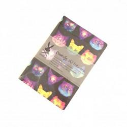"""Скетчбук А5 Fabriano """"Головы Котов"""" для графики, 110 г/м, 68 стр"""