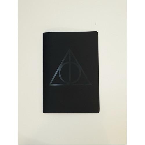 """Скетчбук для графики с черной бумагой """"Дары Смерти"""" А5 (100г/м2, 64 с)"""